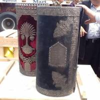 A handout picture released by the Egyptian Ministry of Antiquities shows antique Torah scrolls that were recovered by Egyptian authorities as they foiled an attempt to smuggle the pieces out of the country. The scrolls were discovered in the Mediterranean city of Damietta as they were about to be shipped to Belgium, a ministry statement said on April 18. Estimates of Egypt's Jewish population range from about 200 to a few dozen, mostly elderly women, a fraction of the 80,000-strong community whose members were expelled or left in the early 1950s. | AFP-JIJI