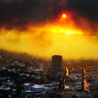 Blaze in historic Chile city kills at least 11, destroys 500 homes