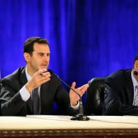 Assad says Syria's civil war turning in regime's favor