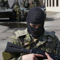 Who are the mysterious 'little green men' helping Ukraine's rebels?