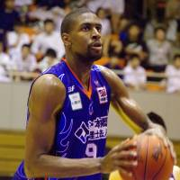Aomori Wat's forward/center Anthony Kent