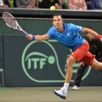 Czech Republic completes Davis Cup sweep against Japan