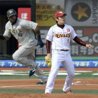 Eagles rookie Matsui shelled in debut