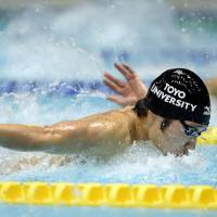 Hagino smashes two records at nationals
