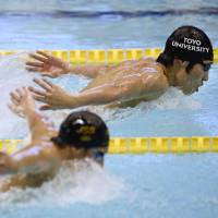 Hagino wins showdown with Seto, takes 400 IM title at nationals