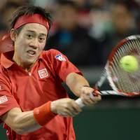 Injured Nishikori to miss Davis Cup quarterfinal