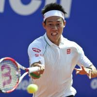 Nishikori defeats Gulbis to reach Barcelona Open final