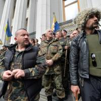 Ukraine leader announces anti-terror move in east