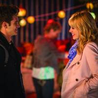 Modern couple: Without the Spider-Man costume, Peter Parker (Andrew Garfield) chats with Gwen Stacy (Emma Stone). © 2013 CTMG. | ALL RIGHTS RESERVED.