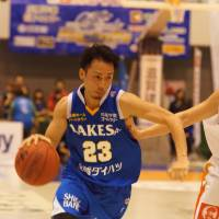 Time to shine: Shiga Lakestars guard Yutaka Yokoe is a key contributor for the West's third-seeded playoff team. | TAKASHI SATO
