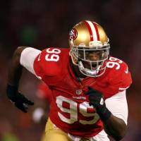 49ers linebacker Smith pleads no contest to gun charges, DUI