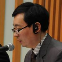 Yoo Jin-sung, researcher at the Korea Economic Research Institute | SATOKO KAWASAKI