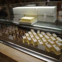Spreading it thick: Echire butter cakes at Tokyo's Echire Maison du Beurre are unlikely to sit on display for long, as the store makes a limited number each day. | ANGELA ERIKA KUBO