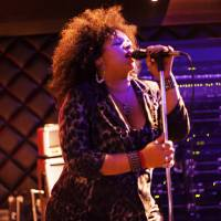 On the mic: Singer Davina Robinson says building connections with other local musicians is a must when it comes to a career in performing. | RIK SANCHEZ
