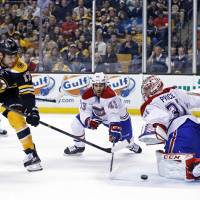 Goal barrage powers Bruins