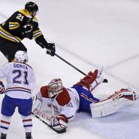 Bruins push Habs to brink