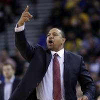 Out the door: Mark Jackson is finished after three seasons as coach of the Warriors despite making the playoffs the past two seasons. | AP
