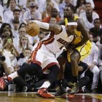 Heat storm back to beat Pacers, take 2-1 lead