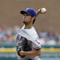 Darvish scratched from start as stiff neck returns