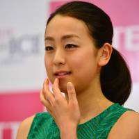 Wise move: Three-time world champion Mao Asada will not skate competitively next season while taking time to decide about her future.  | KYODO