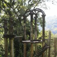 Secret garden: Las Pozas is a little-known garden in Mexico comprised of surreal art created by the late British multimillionaire Edward James. | AP