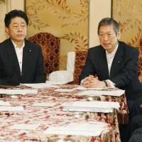 Komeito to LDP: Self-defense not same as collective defense