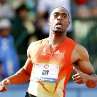 Sprinter Gay accepts ban