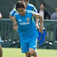 Nagatomo doesn't see humidity as big issue