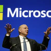 Real money: Former Microsoft CEO Steve Ballmer has struck an agreement to purchase the Los Angeles Clippers for $2 billion pending approval from the other 29 NBA owners. | AP