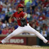 Darvish just misses no-hitter
