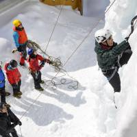 Ice climbing emerging as a hot trend among young women