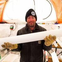 Scientists drill 2,000-year-old ice core in Antarctic's heart