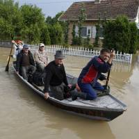 Balkan floods, landslides take toll