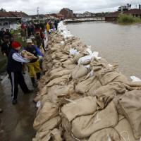 Balkan floods called worst in a century
