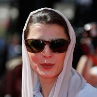 Actress' kiss at Cannes angers Tehran