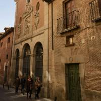 The Convent of Trinitarians in central Madrid has undergone numerous changes since the death of writer Miguel de Cervantes in 1616. | AFP-JIJI