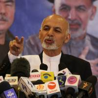Afghan poll may be headed for runoff