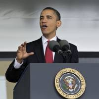 Obama to argue for avoiding overreach overseas