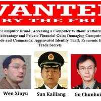 China slams U.S. charges over hacking, data theft