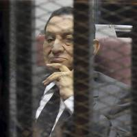 Egypt's Mubarak convicted of graft, sentenced to three years