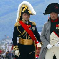 'Napoleon' returns to exile island for 200th anniversary