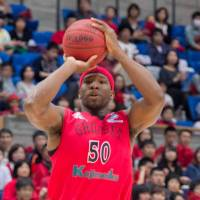 Lofty goal: Forward Ira Brown and the Eastern Conference's top-seeded Toyama Grouses are vying for the franchise's first trip to the Final Four. | TAKASHI SATO