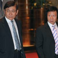 Hong Kong property moguls on trial in huge graft case