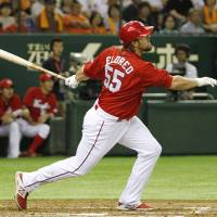 Carp crush Giants to send interleague warning