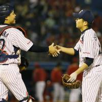 Ishikawa tosses shutout against first-place Carp