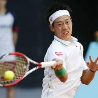 Nishikori dispatches Dodig in Madrid Open