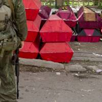 Second European team missing in east Ukraine