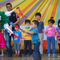 Swap carps for pinatas on Children's Day