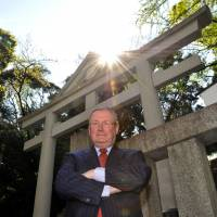 Malcolm Rogers, the Ann and Graham Gund Director of the Museum of Fine Arts, Boston, on a visit to Tokyo. | YOSHIAKI MIURA