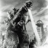 Breath of fresh air: Haruo Nakajima dressed as Godzilla in the 1954 original. The monster was initially a terrifying allegory for World War II suffering, but as he was used in U.S. productions, the metaphors became mixed or lost.  | TM & © TOHO CO.,LTD.